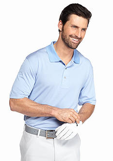 Pro Tour Short Sleeve Striped Golf Polo Shirt