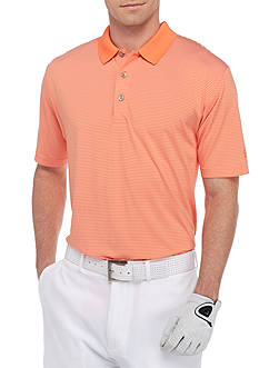 Pro Tour® Striped Golf Polo Shirt