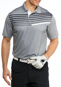 Pro Tour Short Sleeve Tech Asymmetrical Linear Print Shirt