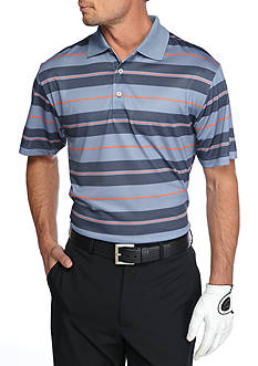 Pro Tour Airplay Birdseye Printed Stripe Polo Shirt
