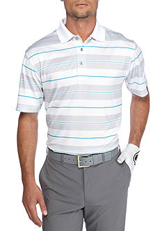 Pro Tour® Airplay Birdseye Printed Stripe Polo Shirt