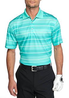 Pro Tour Airplay Birdseye Printed Stripe Polo Shirt