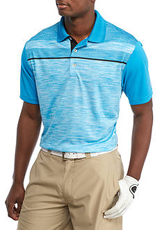 Pro Tour Short Sleeve Texture Polo Shirt