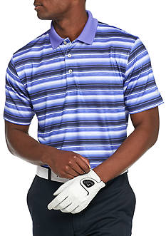 Pro Tour® Short Sleeve Motion Play Gradient Stripe Polo Shirt