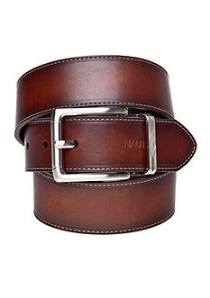 Nautica Cut Round Reversible Casual Belt