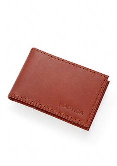 Nautica Genuine Leather Front Pocket Wallet