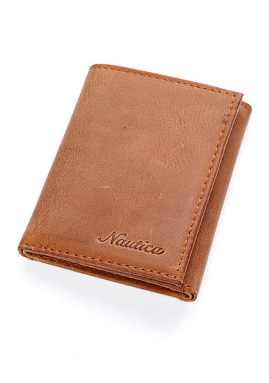 Nautica Centerboard Trifold Wallet