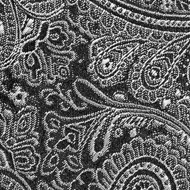 Black Tie: Black Countess Mara Augustin Paisley Tie