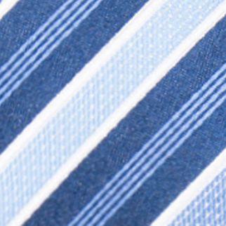 Black Tie: Navy/Blue Countess Mara Stamford Stripe III Tie