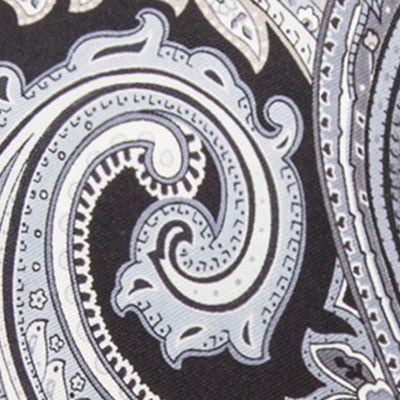 Black Tie: Black Countess Mara Marrakesh Paisley Tie