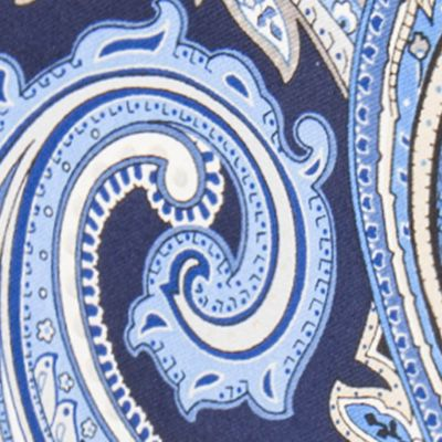 Black Tie: Navy Countess Mara Marrakesh Paisley Tie