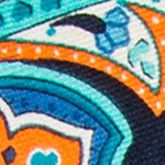 Mens Ties: Paisley & Formal: Aqua Countess Mara Marrakesh Paisley Tie