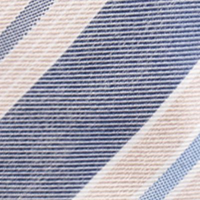 Shop By Brand: Countess Mara: Blue Countess Mara Castello Stripe Tie