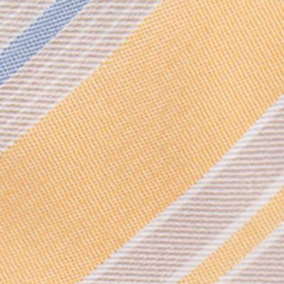 Shop By Brand: Countess Mara: Yellow Countess Mara Castello Stripe Tie