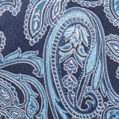 Red Ties: Aqua Countess Mara Brunson Paisley Tie