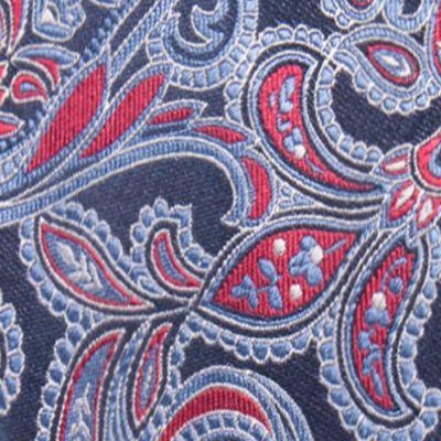 Red Ties: Red Countess Mara Brunson Paisley Tie