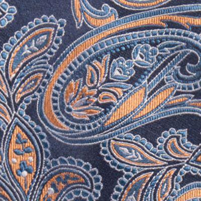 Red Ties: Orange Countess Mara Brunson Paisley Tie
