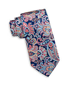 Countess Mara Spruce Paisley Tie