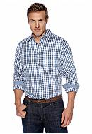Saddlebred® Big & Tall Gingham Long Sleeve
