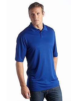 Saddlebred Big & Tall Solid Performance Polo