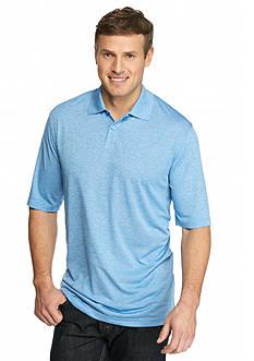 Saddlebred Big & Tall Short Sleeve Space Dye Polo Shirt