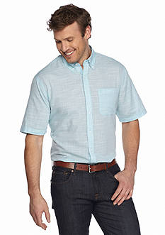 Saddlebred® Big & Tall Short Sleeve Sport Shirt
