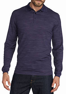 Saddlebred® Long Sleeve Polo Shirt