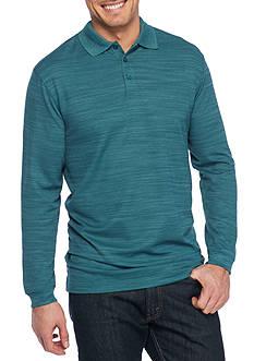 Saddlebred Big & Tall Long Sleeve Polo Shirt