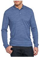 Saddlebred® Big & Tall Long Sleeve Polo Shirt