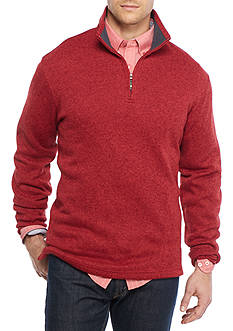 Saddlebred Big & Tall 1/4 Zip Pullover