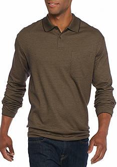 Saddlebred Long Sleeve Box Polo Shirt