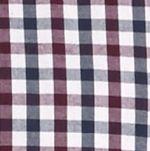 Men: Saddlebred Casual Shirts: Dress Blue Saddlebred Long Sleeve Mini Check Poplin Shirt