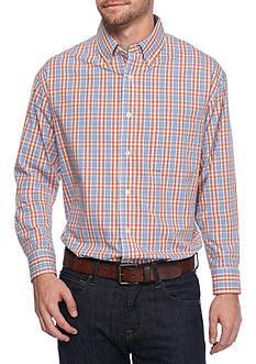 Saddlebred Long Sleeve Multi Check Poplin Shirt