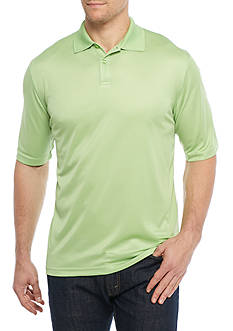 Saddlebred® Big & Tall Short Sleeve Solid Polo Shirt
