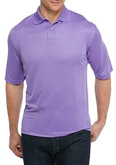Saddlebred Big & Tall Short Sleeve Solid Polo Shirt