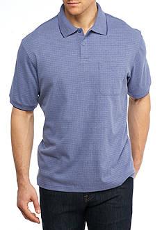 Saddlebred Short Sleeve Box Polo Shirt