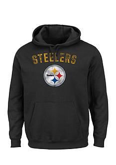 Majestic Pittsburgh Steelers Kick Return Hooded Fleece Sweatshirt