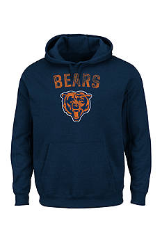 Majestic Chicago Bears Kick Return Hooded Fleece Sweatshirt