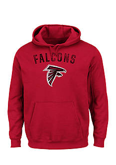 Majestic Atlanta Falcons Kick Return Hooded Fleece Sweatshirt