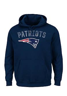 Majestic New England Patriots Kick Return Hooded Fleece Sweatshirt