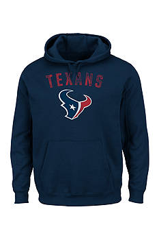 Majestic Houston Texans Kick Return Hooded Fleece Sweatshirt