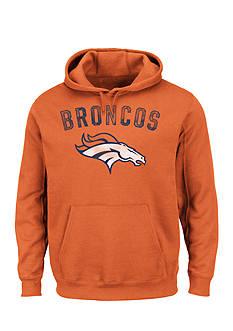 Majestic Denver Broncos Kick Return Hooded Fleece Sweatshirt