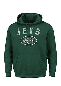 Majestic New York Jets Kick Return Hooded Fleece Sweatshirt
