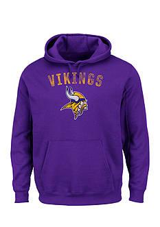 Majestic Minnesota Vikings Kick Return Hooded Fleece Sweatshirt
