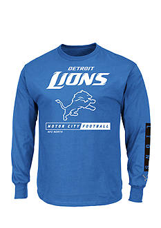 Majestic Detroit Lions Primary Receiver Graphic Tee
