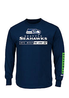 Majestic Seattle Seahawks Primary Receiver Graphic Tee