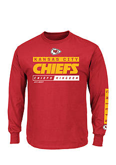Majestic Kansas City Chiefs Primary Receiver Graphic Tee