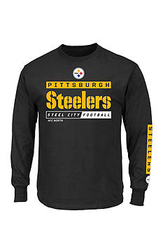 Majestic Pittsburgh Steelers Primary Receiver Graphic Tee