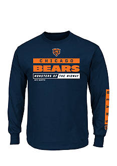 Majestic Chicago Bears Primary Receiver Graphic Tee