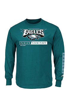 Majestic Philadelphia Eagles Primary Receiver Graphic Tee